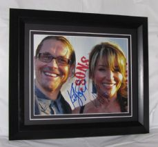 "A424KSKS KURT SUTTER & KATEY SAGAL - ""SONS OF ANARCHY"" DUAL SIGNED"